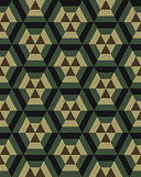 camouflage hexagon seamless