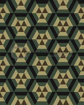 camouflage hexagon seamless