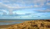 Landscape of Nationalpark Duinen van Texel