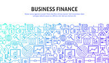 Business Finance Web Concept