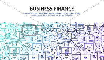 Business Finance Web Concept