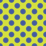 Seamless abstract circle dots pattern