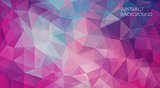 Violet Flat triangle Background