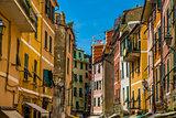 Colorful Buildings - Cinque Terre, La Spezia,Italy