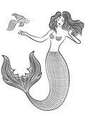 Wonder Mermaid with fish