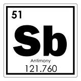 Antimony chemical element