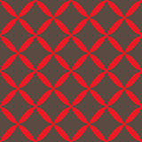 Seamless abstract grid gray red pattern