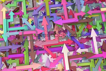 Arrows Colorful Mix