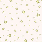 Abstract white modern seamless pattern with stars. Vector illustration. Shiny background.