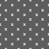 X cross geometric pattern. Simple subtle seamless background.