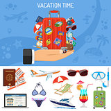Vacation and Tourism Banner