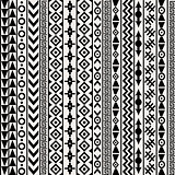Geometrical ethnic motifs background