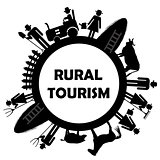 Rural tourism icon