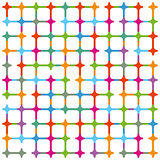Geometric colorful background illustration