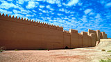 Ruins of Processional street of ancient Babylon in Hillah, Iraq