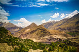 Panorama of Karimabad and Hunza valley, Gilgit-Baltistan, Pakistan