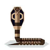 Flat geometric King Cobra