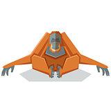 FLat geometric orangutan
