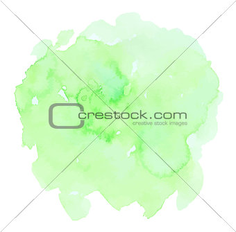Green watercolor vector texture
