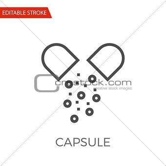 Capsule Vector Icon