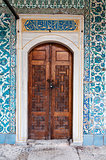 Topkapi door in Istanbul