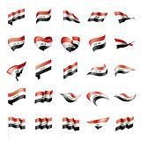 Iraqi flag, vector illustration