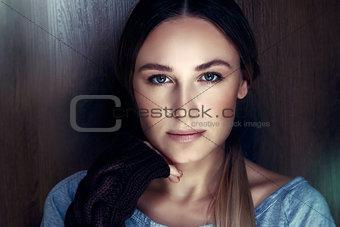 Authentic women's portrait