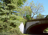 Winterdale Arch in Central Park, New York City