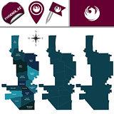 Map of Phoenix with Neighborhoods