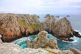 Pen-Hir cape landscape