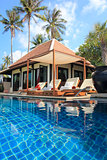 pool villa ko samui beach vacation thailand