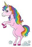 Standing unicorn theme image 1