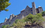 carcassone, temples, cathedral, architecture, cultural interest, medieval, medieval city, walls, antiquity, tourism, cultural interest city, walled city Carcassone walled city in France