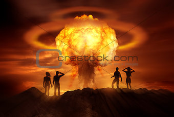 Apocalyptic Nuclear Bomb