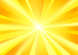 Sun Burst Rays Background