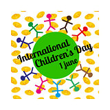International Children s Day concept