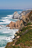 Cabo da Roca, the western point of mainland Europe, Atlantic oce