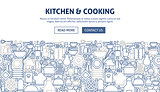 Kitchen Cooking Banner Design