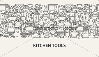 Kitchen Tools Banner Concept