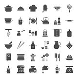 Kitchen Utensils Solid Web Icons