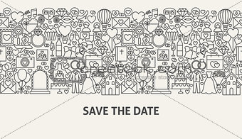 Save the Date Banner Concept