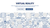 Virtual Reality Banner Design