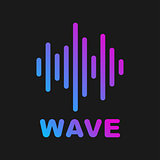Vector sound wave. Logotype of sound and music wave. EPS 10