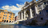 Fountain Trevi Italy
