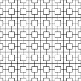 Seamless grid texture. Vector geometric pattern.