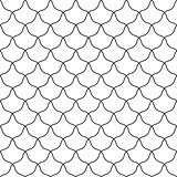 Vector stylish background - simple seamless pattern