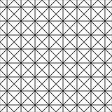Seamless grid texture - simple linear pattern. Vector geometric background