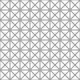 Seamless ornamental pattern - simple design. Vector geometric background