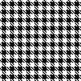 Seamless textile pattern - cloth design. Vector geometric background. Black and white texture