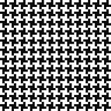 Vector geometric background - seamless textile pattern. Black and white texutre